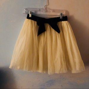 Forever 21 Cream tulle skirt